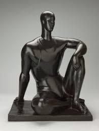 Athlète baigneur 1927