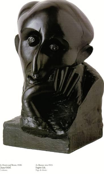 le peintre juif 1920