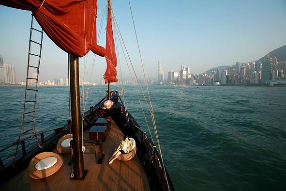 香港赤柱觀光船