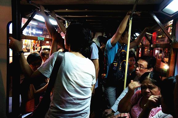 香港電車車箱