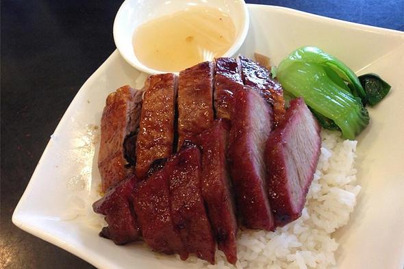 香港沙田叉燒大王美食