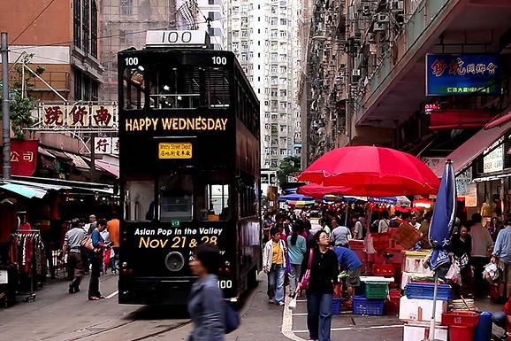 香港電車春秧街電車