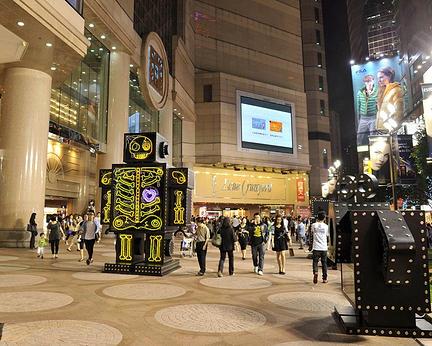 香港銅鑼灣時代廣場購物