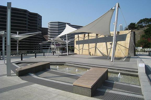 尖沙咀星光大道雕像轉移到東海濱平台