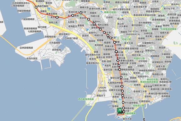 香港機場到深水埗、旺角、油麻地、佐敦、尖沙咀巴士