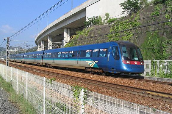 香港機場地鐵到市區