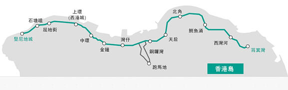 香港電車路線