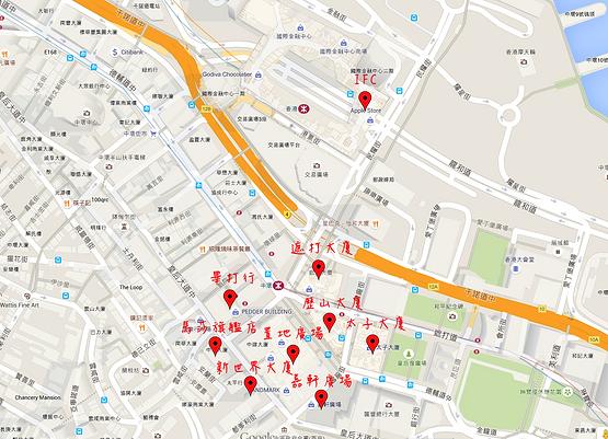 中環購物地圖