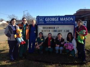 Outreach at George Mason Elementary School