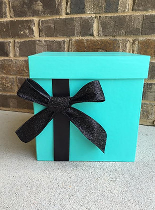 Robin's Egg Blue Card Box