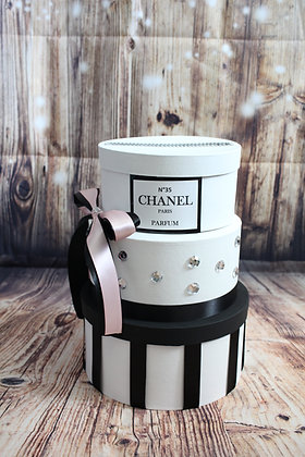 Chanel Inspired Card Box