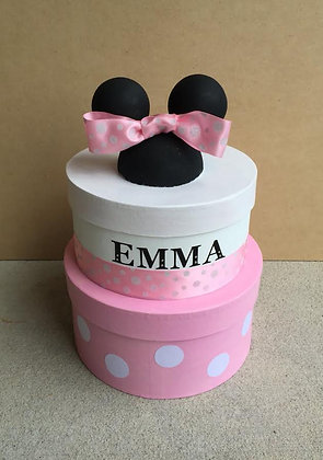 Minnie Mouse Card Box or Centerpiece