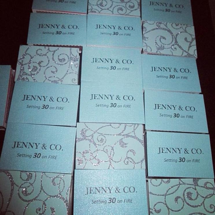 Tiffany Inspired Party Favors