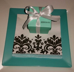 Tiffany Inspired Party Favor Box