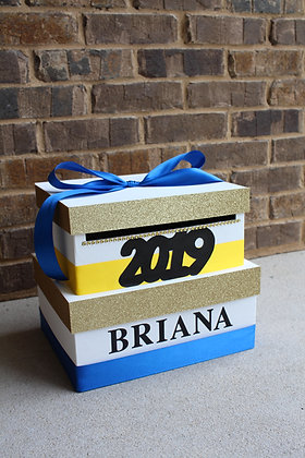 2019 Graduation Card Box