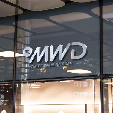 MWD Shop Facade Logo