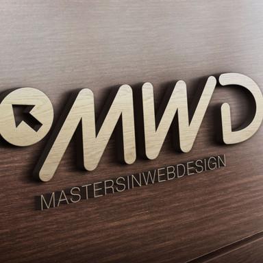 MWD 3D Wooden Logo