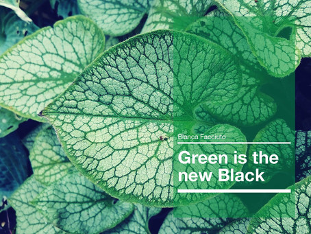 GREEN IS THE NEW BLACK-English