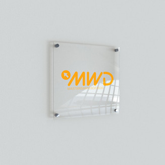 MWD Indoor Sign