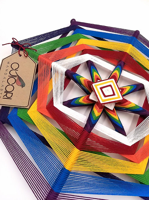 "Mandala Wixarika-Huichol ""CHACRAS"""