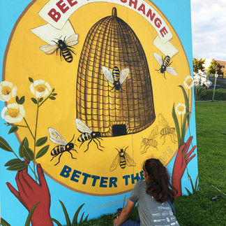 Bee the Change (detail)