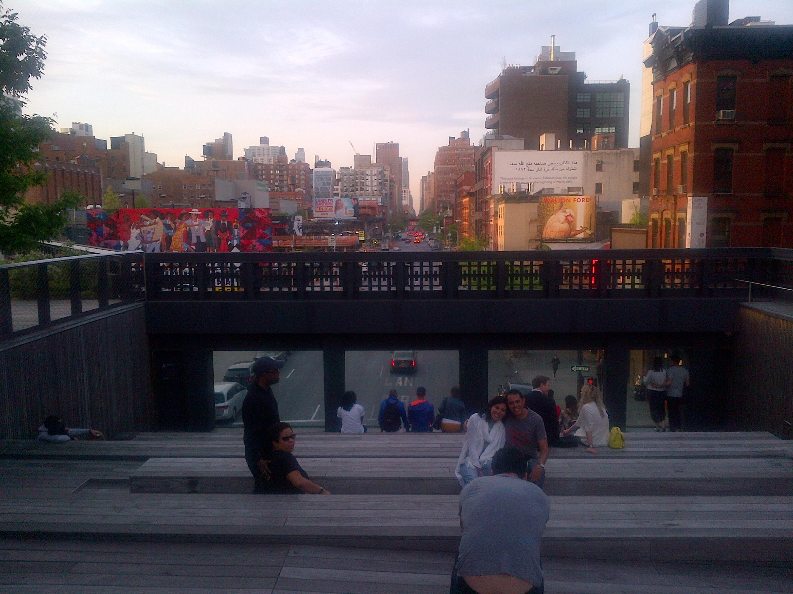 High Line bleacher