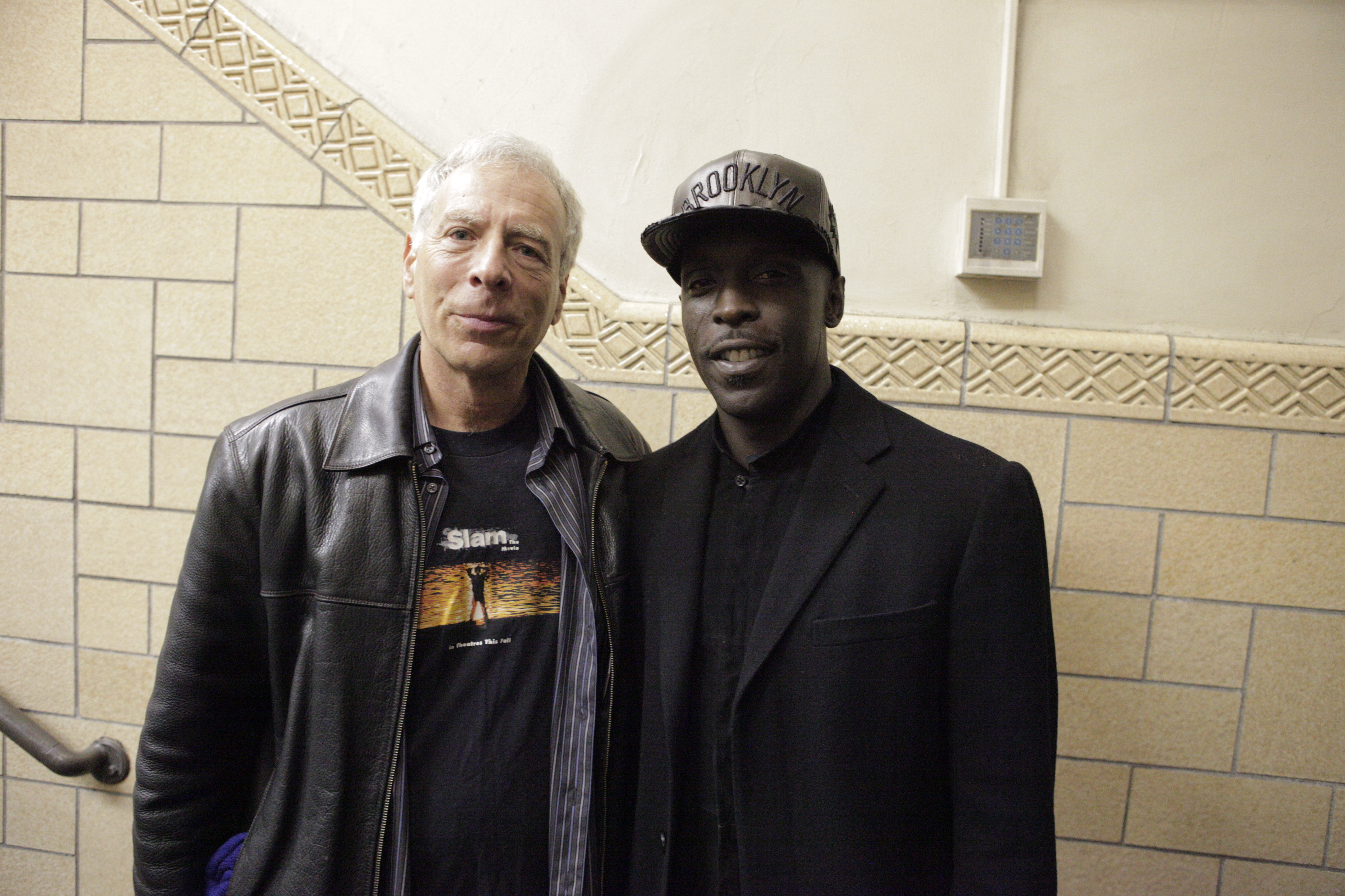 Marc and Michael K Williams