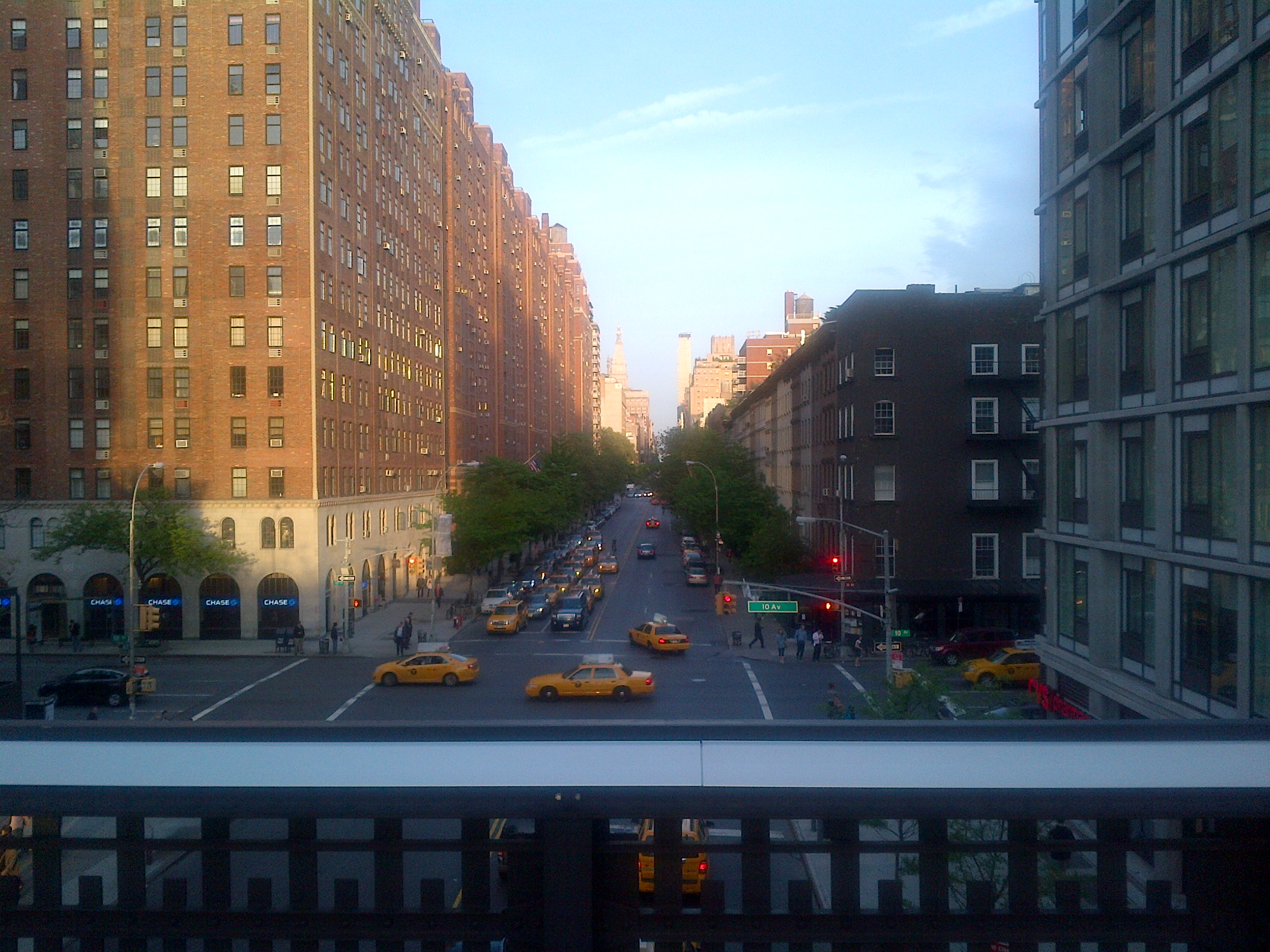 High Line - London terrace