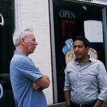Marc Levin and Sanjay Gupta in Victoria