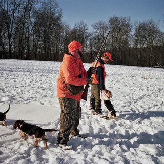 Hunting with Tom Courson