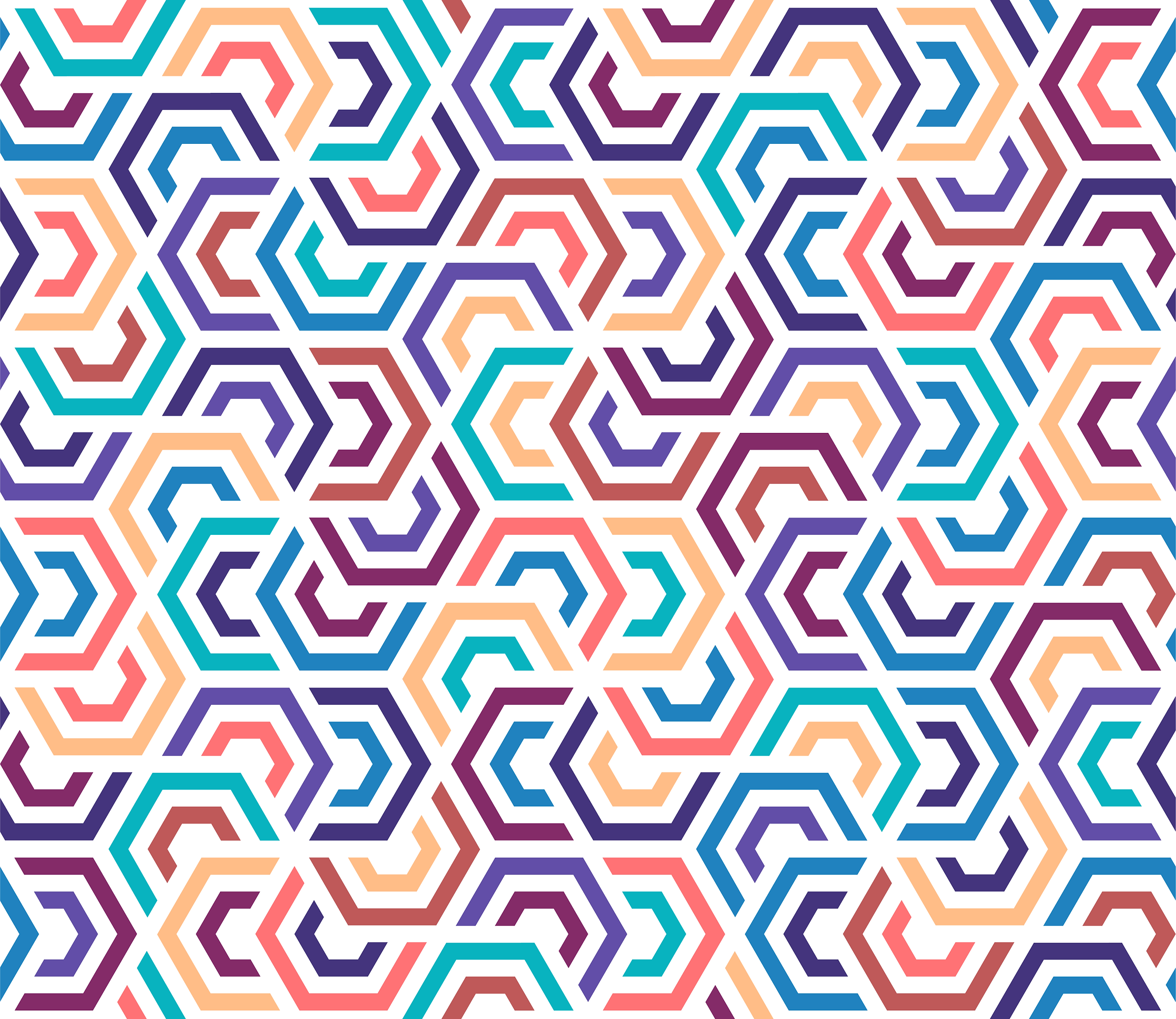 Colorful & Modern Geometric Vector Desig