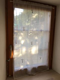 Voile de coton brodé à mini-miroirs et grelots (Rajastan)