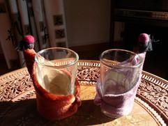 A l'heure du thé, artisanat marocain