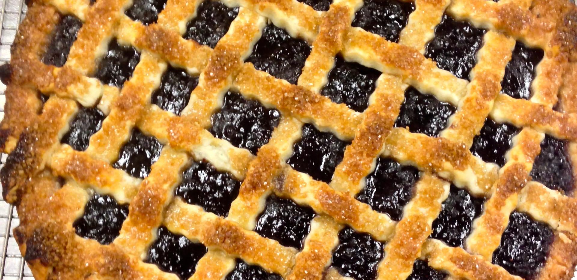 Lattice Cherry Pie | Just the way grandma used to make it