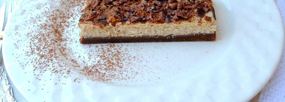Chocolate Mocha Cheesecake Tart | For a sweet ending