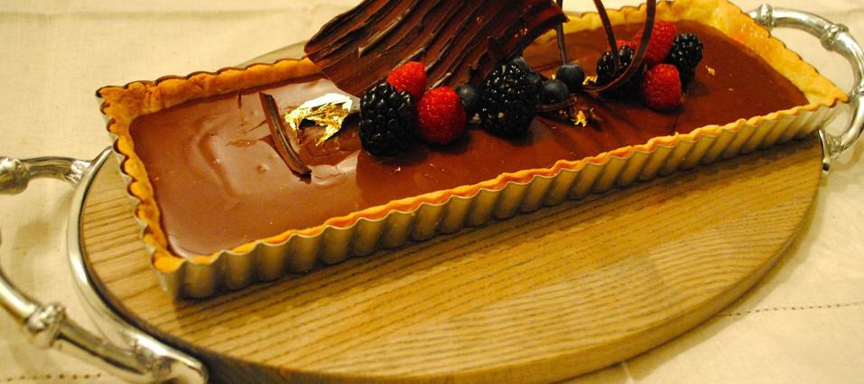 Chocolate Nut Tart | Indulge yourself