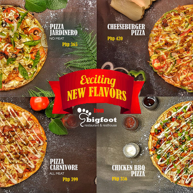 EXCITING NEW PIZZA FLAVORS