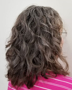 Natural Curls and Color are the easiest
