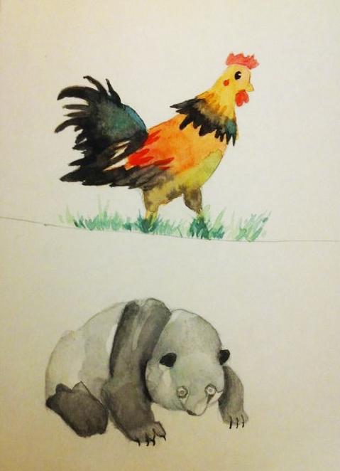 watercolour pratice