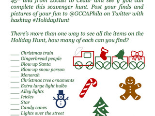 Garden Court Holiday Hunt!