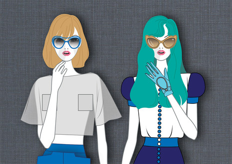 Fashion Girls x 2
