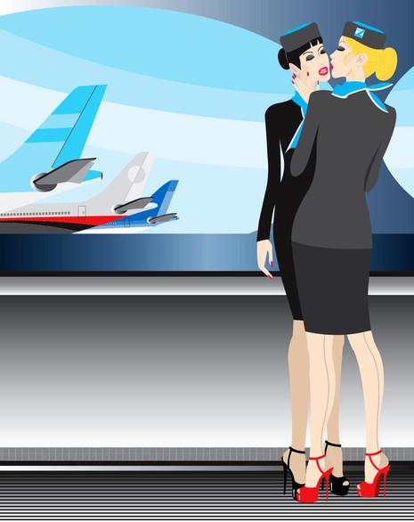 Cabine Air Hostesses