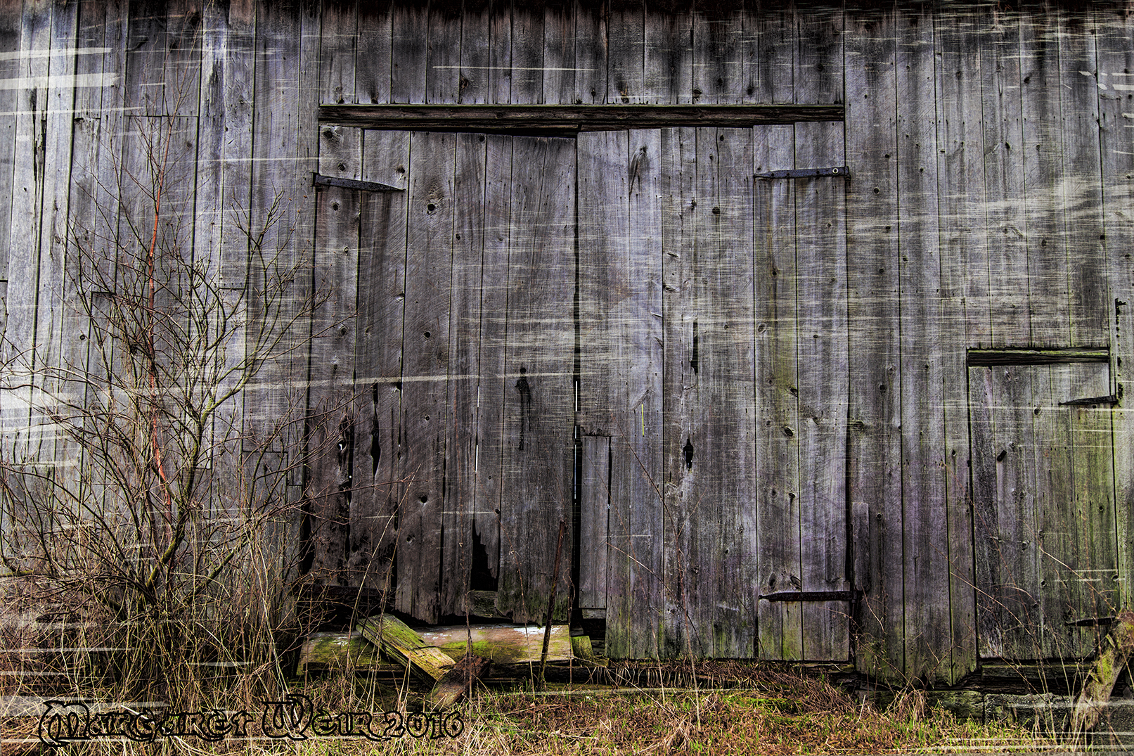 Old Doors for Giants and Little People