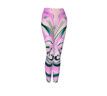 Pink Film Leggings