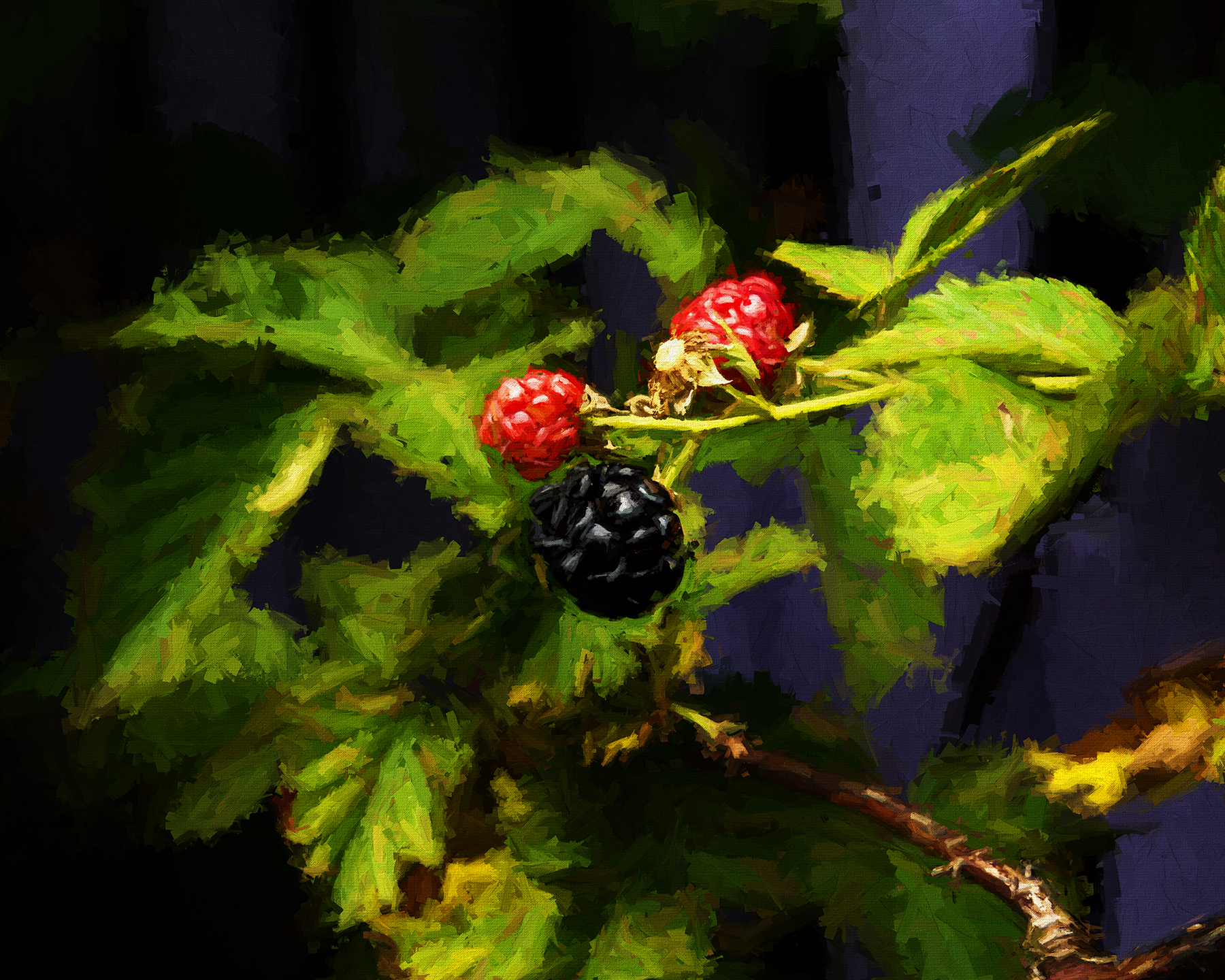 Rambling Garden Berries