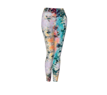 Brick Buzz Abstract Funk Leggings