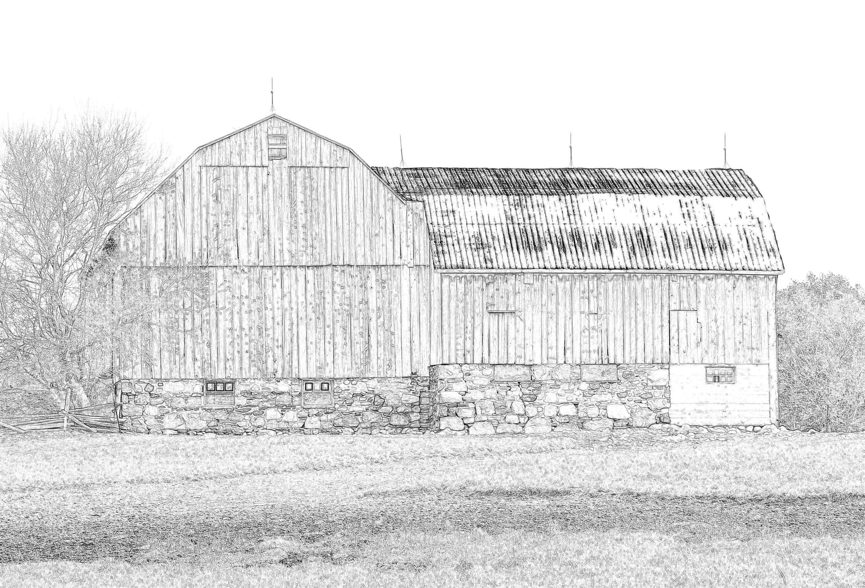 Barn Sketchie