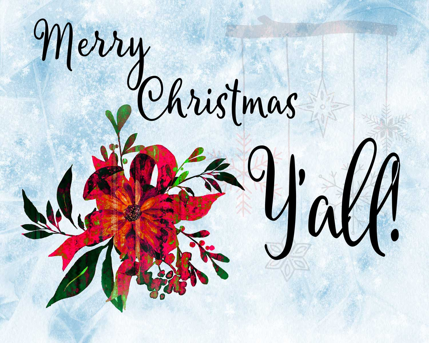 Merry Christmas, Y'all!