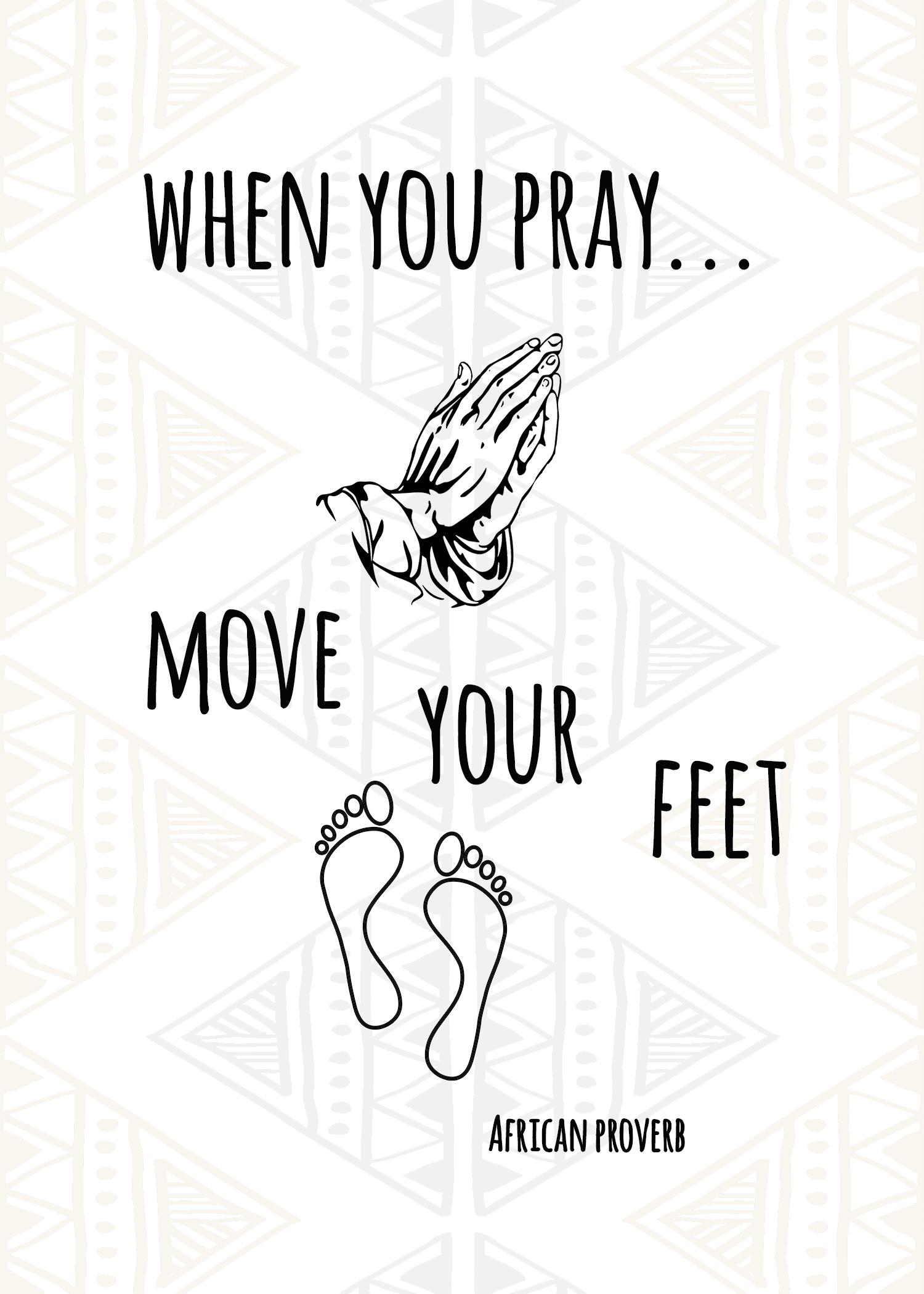 When You Pray.