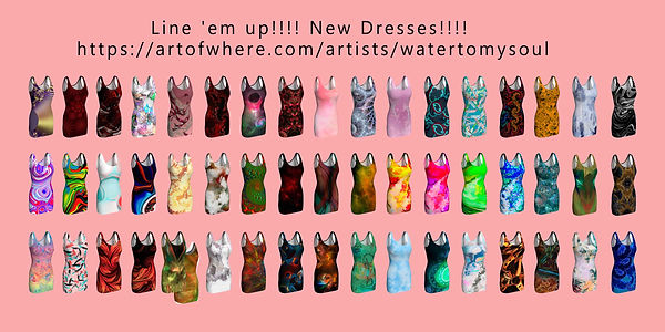 Dresses Line-up June 2019